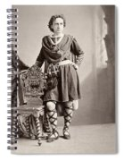 Edwin Booth (1833-1893) Spiral Notebook