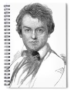 Edwin Forrest (1806-1872) Spiral Notebook