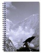 Eerie Himalayas Spiral Notebook