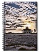 Eerie Lighthouse Spiral Notebook