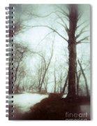 Eerie Winter Woods Spiral Notebook