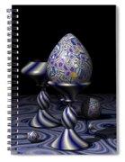 Egg And Goblet Spiral Notebook