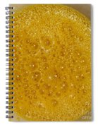 Square Format. Sunny Egg Bubbles  Spiral Notebook