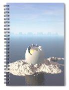 Egg Island Spiral Notebook