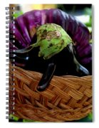 Eggplants From Sicily Spiral Notebook