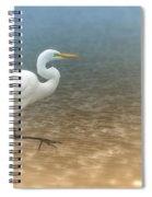 Egret Stroll Spiral Notebook