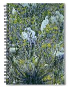 Egrets At Roost Spiral Notebook