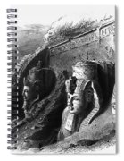 Egypt: Abu Simbel Spiral Notebook