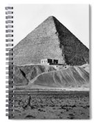 Egypt: Cheops Pyramid Spiral Notebook