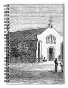 Egypt: El Guisr Church, 1869 Spiral Notebook