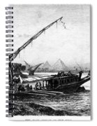 Egypt: Nile Transport Spiral Notebook