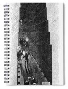 Egypt: Pyramid Interior Spiral Notebook
