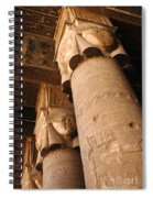 Egypt Temple Of Dendara Spiral Notebook