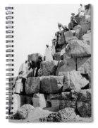 Egypt: Tourism, C1890s Spiral Notebook