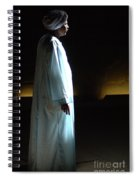 Egyptian Portrait 1 Spiral Notebook