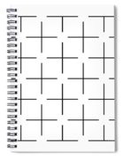 Ehrenstein Illusion Spiral Notebook