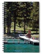 Ehrman Mansion Sugar Pine Point State Park Spiral Notebook