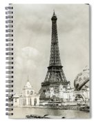Eiffel Tower, 1900 Spiral Notebook