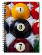 Eight Ball Spiral Notebook
