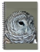 Eight Hooter Spiral Notebook