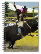 Rodeo Eight Seconds Spiral Notebook