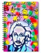 Einstein Imagination Spiral Notebook