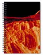 Eistla Regio Of Venus Spiral Notebook
