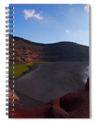 El Golfo Panorama Spiral Notebook