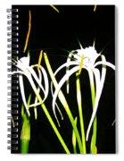 Elaines Flowers Spiral Notebook