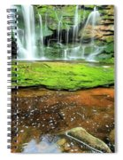 Elakala Falls Portrait Spiral Notebook