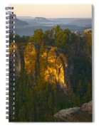 Elbe Sandstone Highlands Spiral Notebook