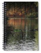Elder Lake Spiral Notebook