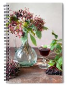 Elderberries 03 Spiral Notebook