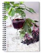 Elderberries 04 Spiral Notebook