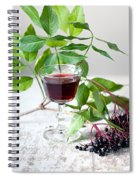 Elderberries 05 Spiral Notebook