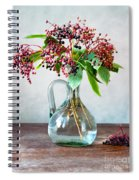 Elderberries 06 Spiral Notebook