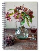 Elderberries 08 Spiral Notebook