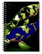 Electric Blue Spiral Notebook