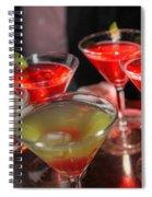 Electric Cosmopolitan Spiral Notebook