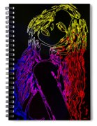 Electric Girl Spiral Notebook
