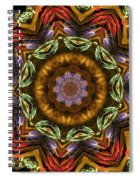 Electric Mandala 2 Spiral Notebook