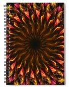 Electric Mandala 4 Spiral Notebook