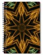 Electric Mandala 7 Spiral Notebook