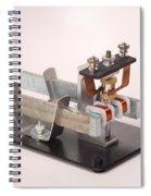 Electric Motor Spiral Notebook