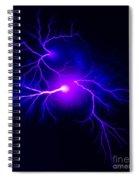 Electric Spark Spiral Notebook