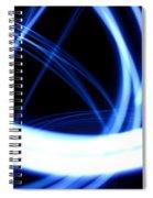 Electric Swirl Spiral Notebook