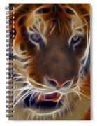 Electric Tiger Spiral Notebook