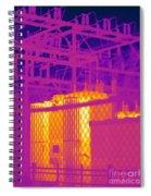 Electrical Substation Spiral Notebook