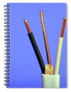 Electrical Wire Spiral Notebook