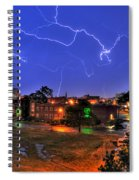 Electrifying Canvases Of Nature Spiral Notebook